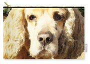 Cocker Spaniel Art - Mellow Yellow Carry-all Pouch