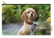 Cocker Spaniel Outside 02 Carry-all Pouch