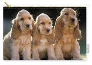 Cocker Spaniel Puppies Carry-all Pouch