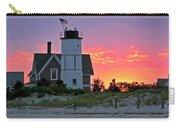 Cocktail Hour At Sandy Neck Lighthouse Carry-all Pouch by Charles Harden
