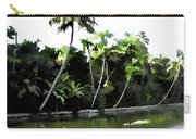 Coconut Trees And Others Plants In A Creek Carry-all Pouch