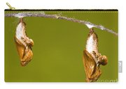 Cocooned Gulf Fritillary Butterflies Carry-all Pouch