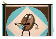 Coffee Buzz Carry-all Pouch by Amy Vangsgard