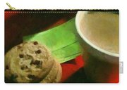 Coffee And Cookies At The Cafe Carry-all Pouch