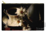 Coffee And Daisies  Carry-all Pouch