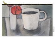 Coffee And Roses Carry-all Pouch