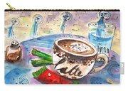 Coffee Break In Spili In Crete Carry-all Pouch