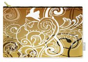 Coffee Flowers 5 Calypso Carry-all Pouch