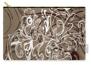 Coffee Flowers 7 Carry-all Pouch
