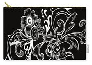 Coffee Flowers 7 Bw Carry-all Pouch