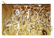 Coffee Flowers 7 Calypso Carry-all Pouch
