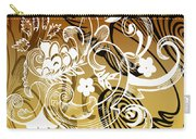 Coffee Flowers 8 Calypso Carry-all Pouch