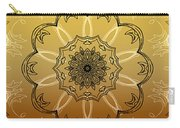 Coffee Flowers Calypso Triptych 4 Vertical Carry-all Pouch