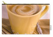 Coffee In Yellow Cup Carry-all Pouch