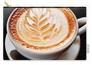 Coffee Latte With Foam Art Carry-all Pouch