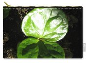 Coffee Plant The Shiny Thick Green Butterfly Look Plant Gives The Great Promise Of A Cash Crop To Th Carry-all Pouch