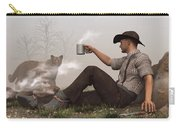 Coffee With A Cougar Carry-all Pouch