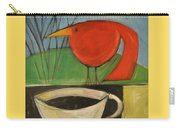 coffee with red bird II Carry-all Pouch