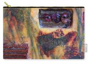 Coin Of The Realm Encaustic Carry-all Pouch