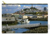 Coit Tower And Marina - San Francisco Carry-all Pouch