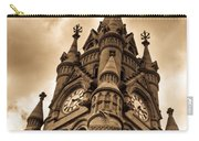 Colck Tower Stratford On Avon Sepia Carry-all Pouch