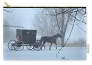 Cold Amish Morning Carry-all Pouch