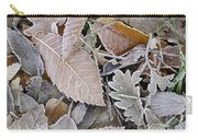 Cold Leaves Carry-all Pouch
