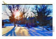 Cold Morning Sun Carry-all Pouch by Jeff Kolker