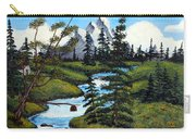 Cold Rattling Brook  Carry-all Pouch by Barbara Griffin