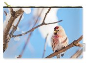 Cold Redpoll Carry-all Pouch