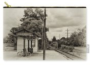 Cold Spring Train Station In Sepia Carry-all Pouch