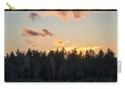 Cold Winter Sunset Carry-all Pouch