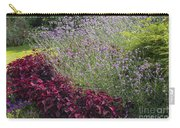 Coleus And Lavender Carry-all Pouch