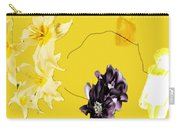 Collage In Yellow Carry-all Pouch