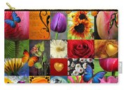Collage Of Happiness  Carry-all Pouch by Mark Ashkenazi