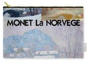Collage Of Monet's Norwegian Works Carry-all Pouch