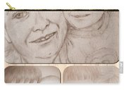Collage Portraits Carry-all Pouch