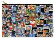 Collage Snowman Horz Photo Art Carry-all Pouch
