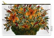 Collage With Wild Flowers Carry-all Pouch