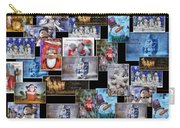 Collage Xmas Cards Horz Photo Art Carry-all Pouch