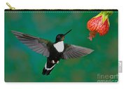 Collared Inca Hummngbird Carry-all Pouch