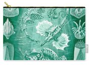 Collection Of Teleostei Carry-all Pouch by Ernst Haeckel
