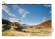 College Valley And Lambden Burn Carry-all Pouch