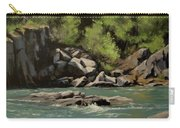 Colliding Rivers Carry-all Pouch