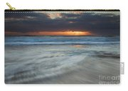 Colliding Tides Carry-all Pouch by Mike  Dawson