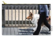 Collie Walk Carry-all Pouch