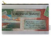 Colm Irish Name Plate Carry-all Pouch