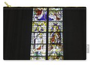 Cologne Cathedral Stained Glass Window Coronation Of The Virgin Carry-all Pouch