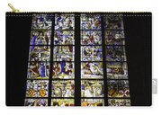 Cologne Cathedral Stained Glass Window Of St Peter And Tree Of Jesse Carry-all Pouch