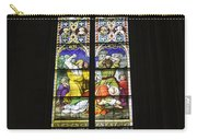 Cologne Cathedral Stained Glass Window Of St. Stephen Carry-all Pouch